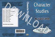 Zack Colvin: Character Studies - Downloadable MP3
