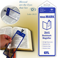 Mag-Mark 2-in-1 Bookmark Magnifier