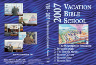 The Mountains of Jersualem - 2007 VBS - DVD