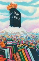 Bible Mountain - Magnet