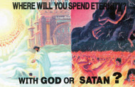 Where Will You Spend Eternity? - Postcard