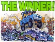 The Winner! - Poster