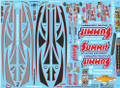 Summit Racing Pro Stock Camaro Decal Sheet #1 1/25