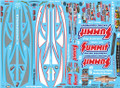 Summit Racing Pro Stock Camaro Decal Sheet #2 1/25