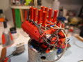 Injected Ford 428 Engine, Completely Built 1/16