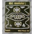 Motor Mid Plate Kit, Brass 1/25