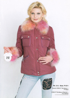 Bordeaux Material and Fox Bellies Jacket