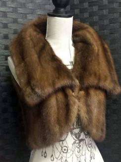 Light Brown Mink Bolero Vest