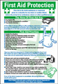 First Aid Protection Poster