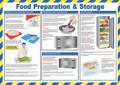 Food Preparation & Storage Poster