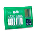 Eye Wash Pod Dispenser Station c/w 8 x 20ml Pods & 2 x Eye Pads