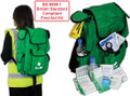 BS-8599-1 Medium Workplace First Aid Kit Rucksack type Bag