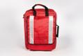 Empty Red Paramedic Rucksack Bag
