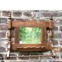 A17110 - Antique Shaving Mirror