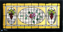 G12003 - Antique Late Victorian/Colonial Revival Style Transom Window