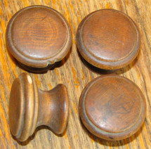 carved wooden furniture knobs