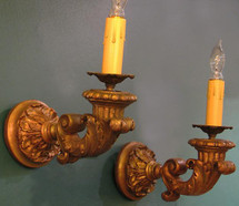 Restored Antique Sconces
