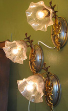 Restored Wall Sconce