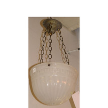 L11121 - Antique Neoclassical Bowl Style Light Fixture