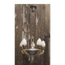 L11161 - Antique Neoclassical Five Light Hanging Fixture