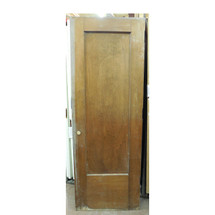 "D13111 - Single Antique Revival Period Interior Birch Door 29-3/4"" x 83-3/4"""