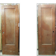 "D13117 - Single Antique Interior Door 27-7/8"" x 83-1/2"""