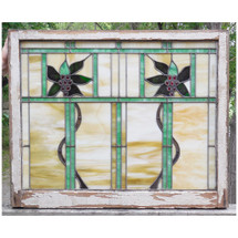 Salvaged Antique Window