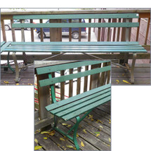 F14088 - Vintage Outdoor Garden Bench