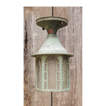 L15130 - Antique Colonial Revival Exterior Porch Ceiling Fixture