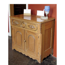 F15057 - Antique Victorian Ash Commode