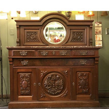 F15066 - Antique Renaissance Revival Style Sideboard