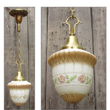 L15270 - Antique Revival Period Single Pendant Hanging Fixture