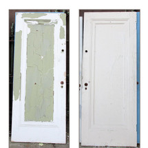 "D15208 - Single Antique ""Miracle"" Door 32"" x 80"""