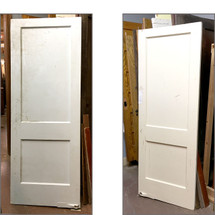 "D15235 - Single Antique Two Panel Interior Door 30"" x 79"""