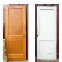 "D15242 - Single Antique Revival Period Interior Pocket Door 30"" x 80-1/2"""