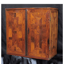 F15149 - Antique Two-Door Inlaid Rosewood Accessory Cabinet