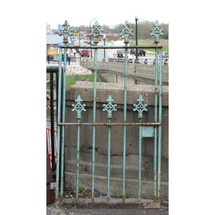 """S16013 - Antique Victorian Wrought and Cast Iron Garden Gate 31"""" x 60"""""""