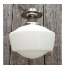 L16114 - Antique Schoolhouse Flush Mount Fixture