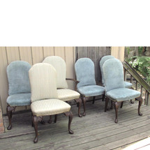 F16056 - Set of Six Antique Colonial Revival Berkey & Gay Dining Chairs