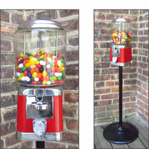 A16030 - Vintage Iron Bubble Gum/Candy Machine