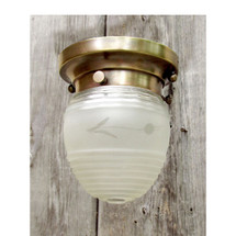 L16146 - Antique Colonial Revival Flush Mount Light Fixture