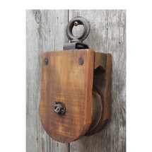 A16064 - Antique Pulley