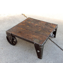 F16133 - Antique Factory Cart