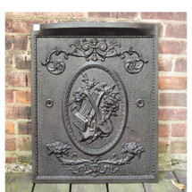 M16013 - Antique Cast Iron Mantel Summer Cover