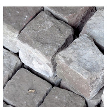 A16082 - Antique Hand Cut Granite Cobblestone