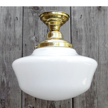 L16189 - Antique Schoolhouse Light Fixture