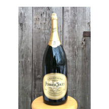 A16106 - Vintage Store Display Large Champagne Bottle