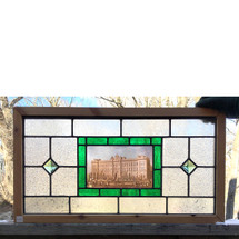 G17016 - Custom Stained Glass Window
