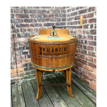 A17011 - Antique Manual Crank Clothes Washing Machine