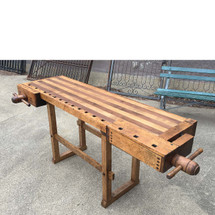 F17019 - Antique Carpenters Work Bench